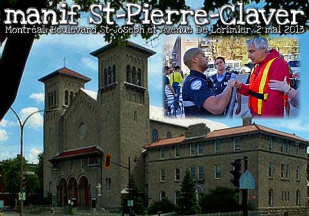 Manif St-Pierre-Claver, 2 mai 2013