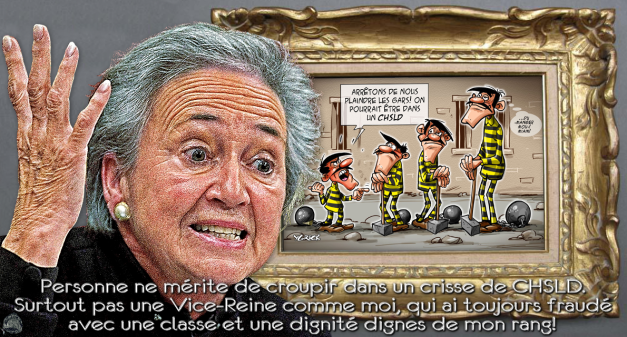 Lise Thibault, une peine royale