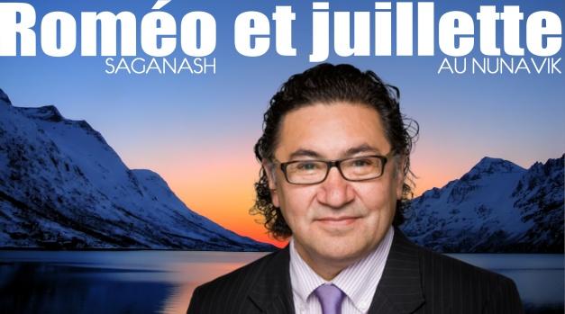 Roméo Saganash et Juillette au Nunavik